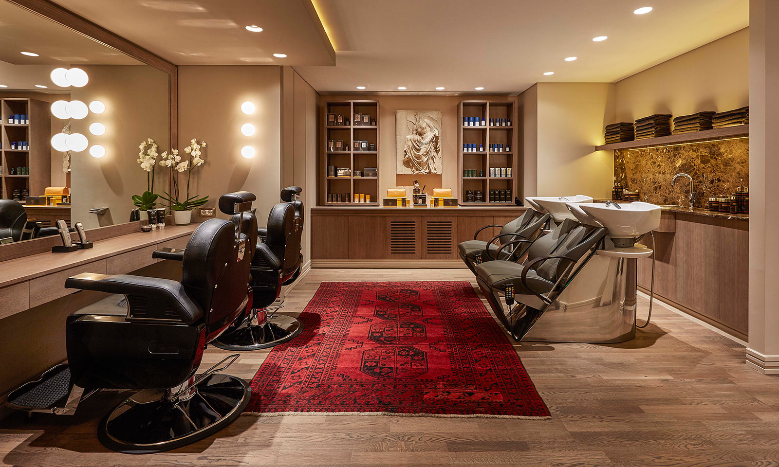 Hair spa grande bretagne spa for Hair salon 2